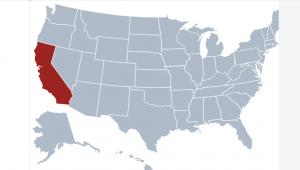 Vị trí địa lí bang California
