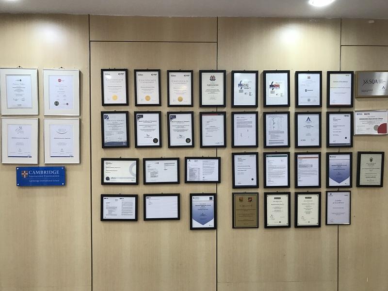 Các thành tích của Trường Dimensions International College