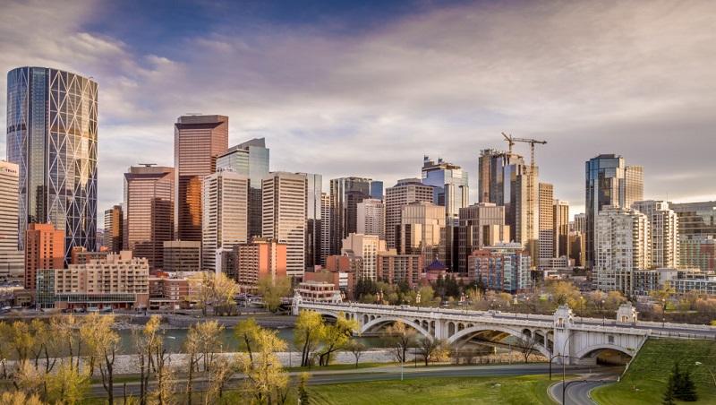 Thành phố Calgary hiện đại