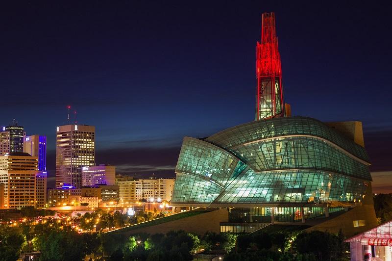 Bảo tàng quyền con người ở Manitoba