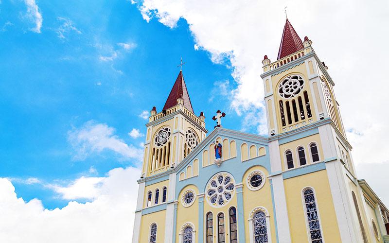 Du học tại Baguio - Baguio Catedral
