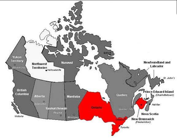Du học Canada Ontario