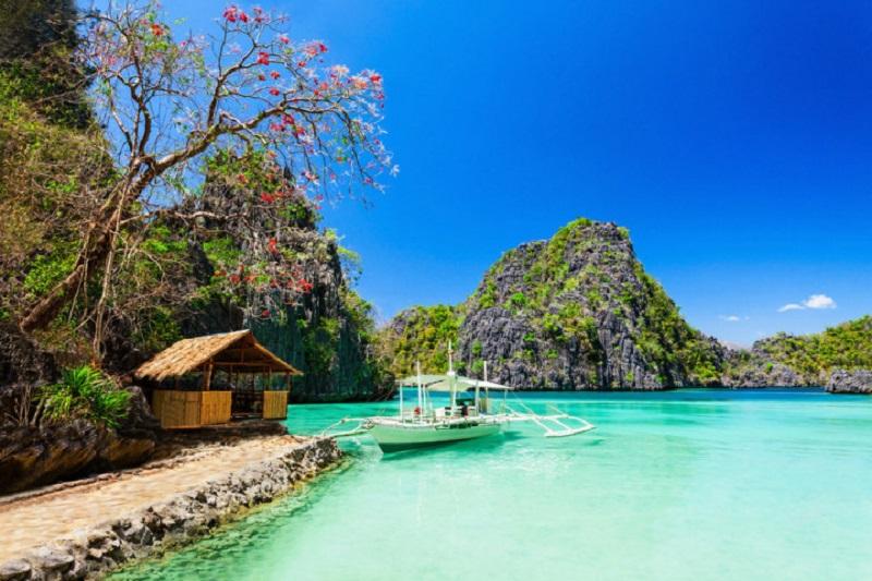 Du học tiếng Anh tại Cebu - Bãi biển đẹp tại Cebu
