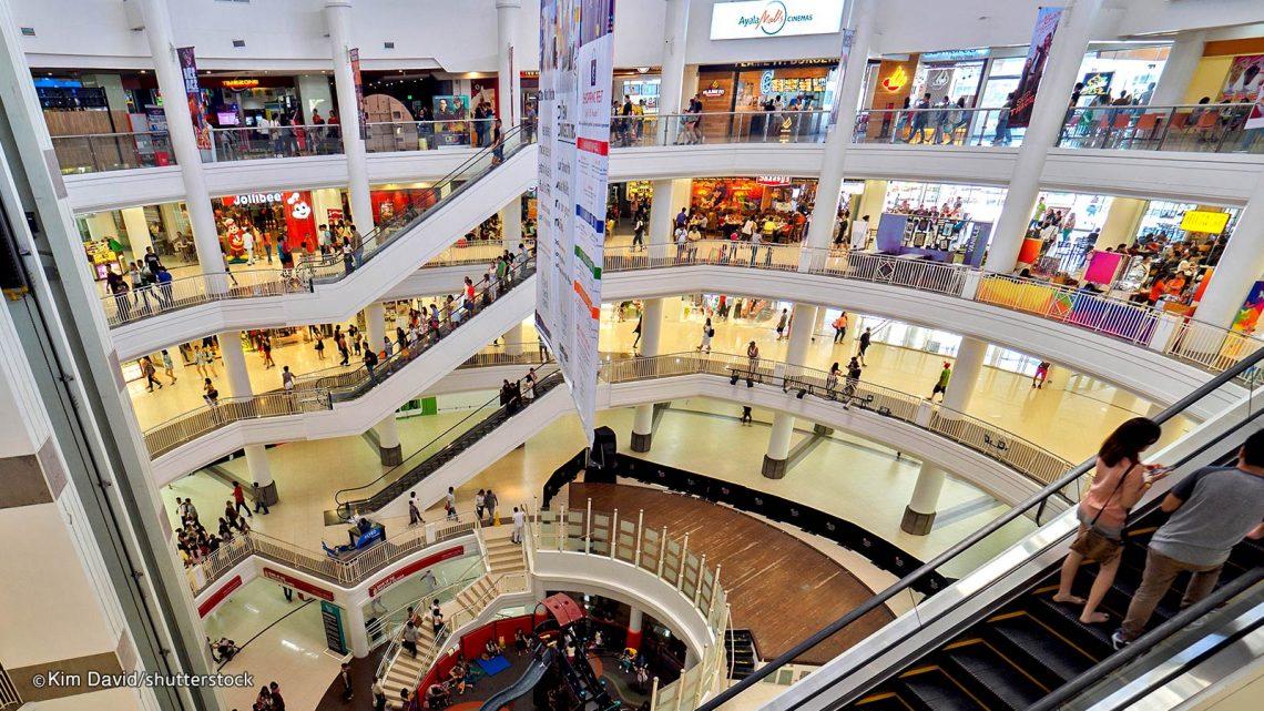Du học tiếng Anh tại Cebu - Ayala Mall