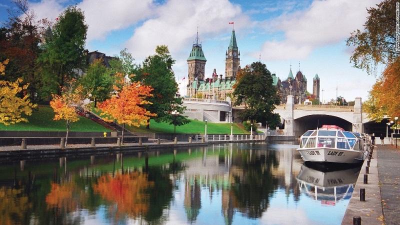 Đất nước Canada tươi đẹp
