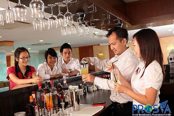 Chương trình vừa học vừa làm tại Singapore: Thực tập ngành nhà hàng khách sạn